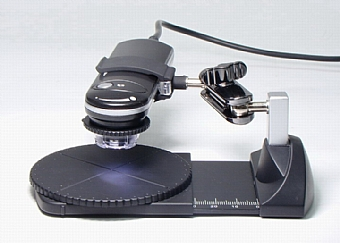 Flat digital microscope